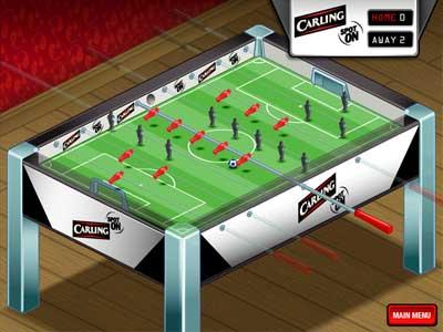 bespoke table football game